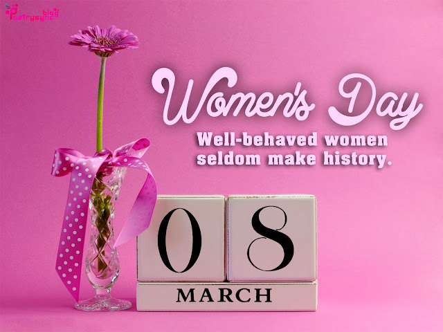 Happy Women's Day 2017 Profile pics Hd Images & Pictures For Facebook, Twitter & Whatsapp