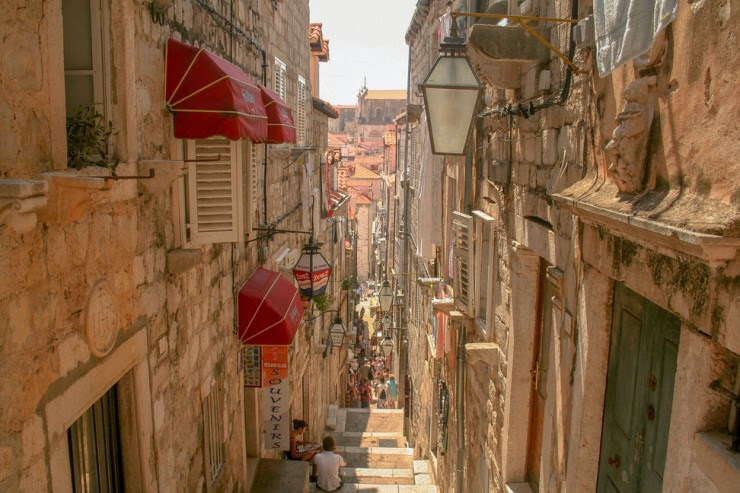 2. Dubrovnik, Croatia - 29 Most Romantic Alleys to Hike