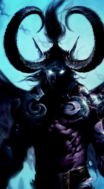 Dreamy Fantasy World Of Warcraft Lich King Artwork Wallpaper