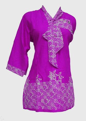 Baju Batik Atasan Kerja Wanita