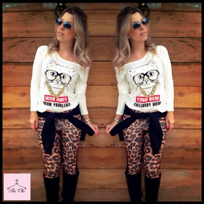 Legging Neoprene Animal Print