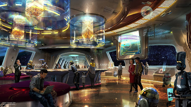 star wars hotel lobby walt disney world