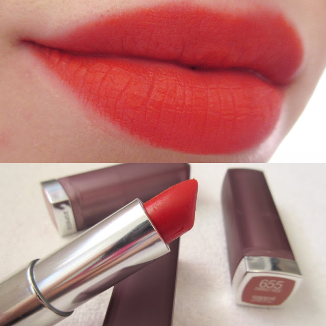 Maybelline Craving Coral Swatch