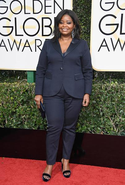 Octavia Spencer 2017 Golden Globes