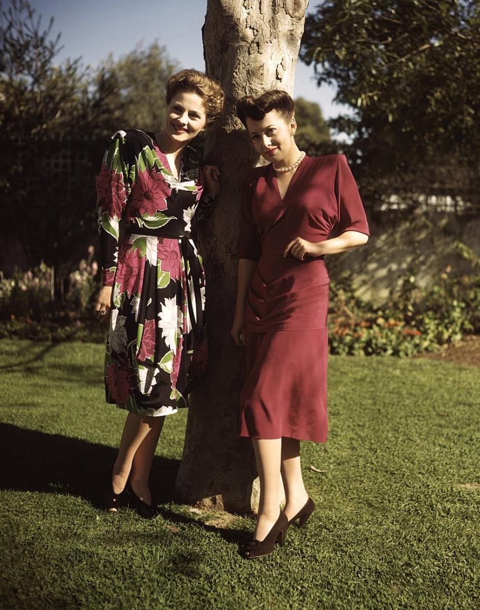 back to golden days feuding sisters olivia de havilland u0026 joan