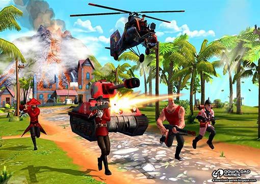 لعبة الحرب Blitz Brigade للكمبيوتر والموبايل مجانا