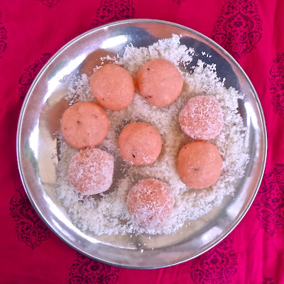 mithai traditional dessert sweetened condensed milk desiccated coconut