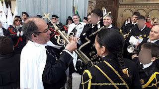 Procesion Sabado Santo Angustias y Soledad Leon