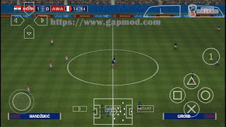 Download PES World Cup Russia 2018 Special Edition by C19 [Chelito v5] PPSPP Android