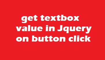 Solved] Get textbox value in jquery on button click asp net