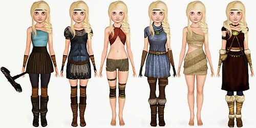My Sims 3 Blog Astrid Hofferson By Morganabananasims