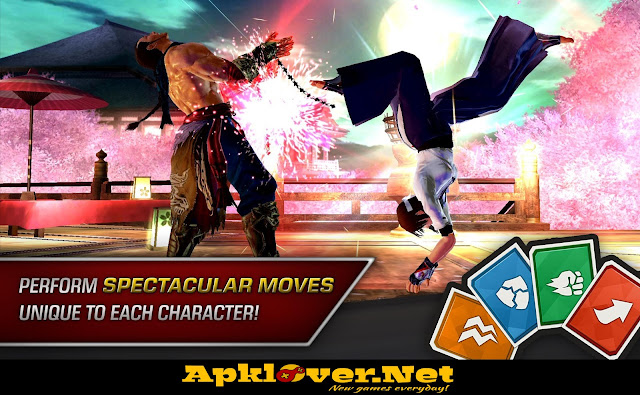 TEKKEN MOD APK unlimited health