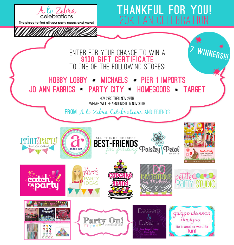 Giveaway | $700 Party Good & Crafts
