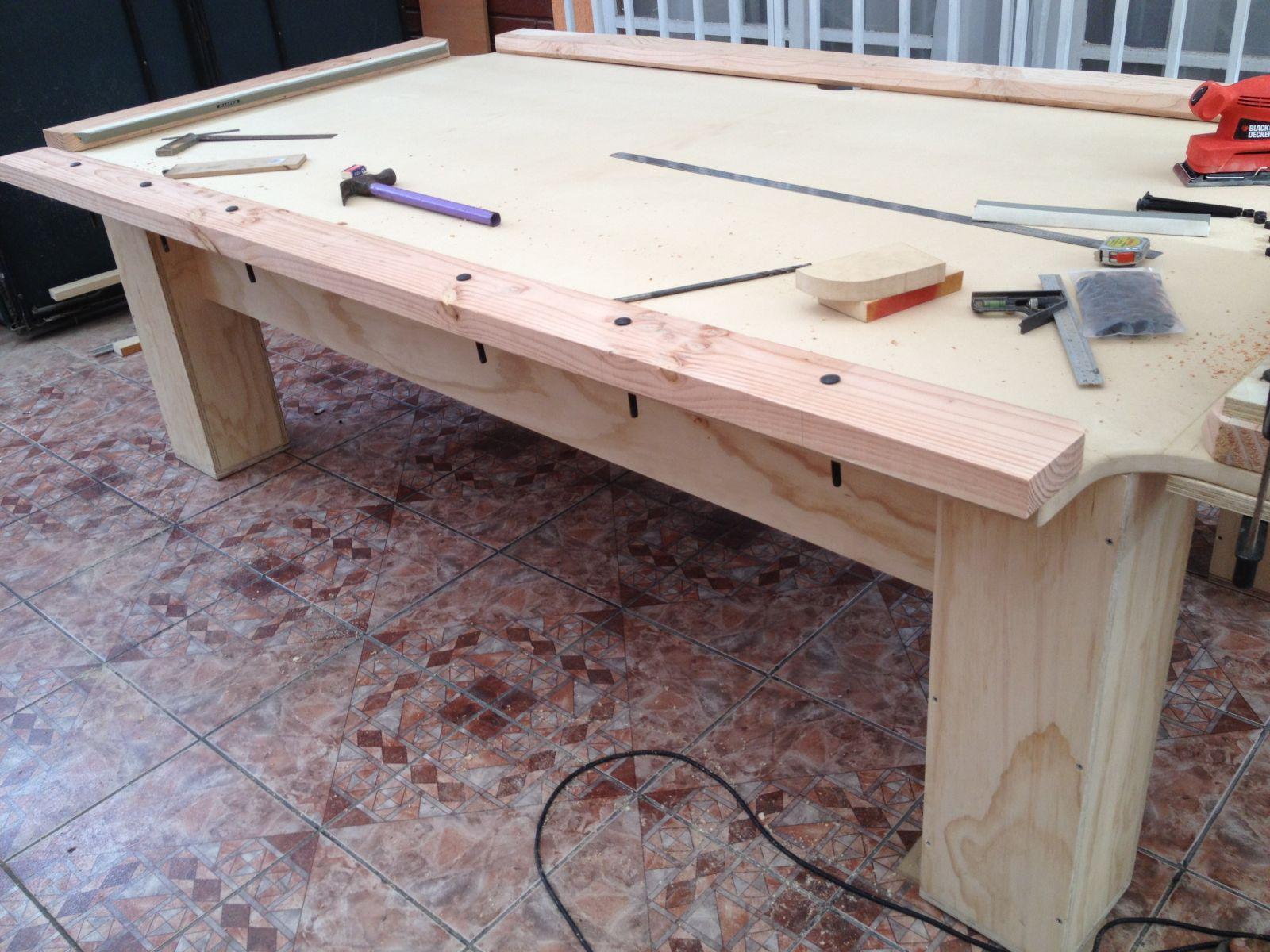 CONSTR YELO YA Construye tu propia mesa de billar