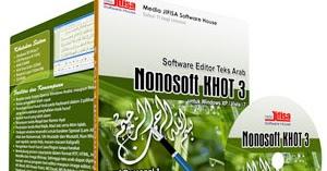 Cara Instalasi Software Nonosoft Khot 2.0.3 (Software untuk Menulis Arab Latin)