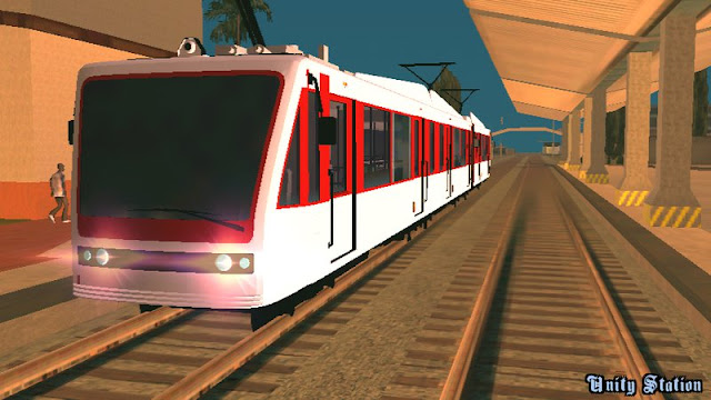 GTA V Transit Train for Android [Dff Only]