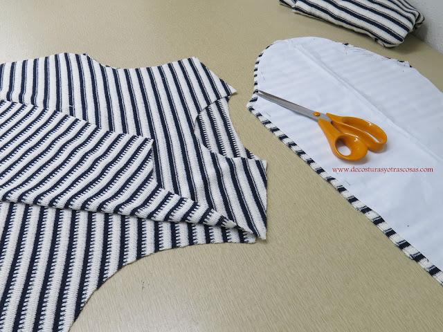 como coser punto jersey