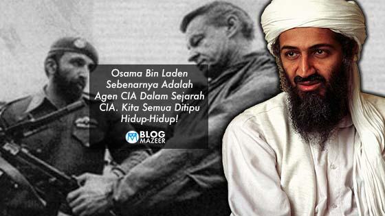 Osama Bin Laden Sebenarnya Adalah Agen CIA Dalam Sejarah CIA. Kita Selama Ini Ditipu Hidup-Hidup!