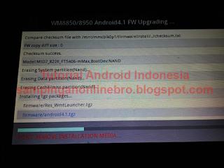 proses flashing smartfren andromax tab 7.0 berlangsung