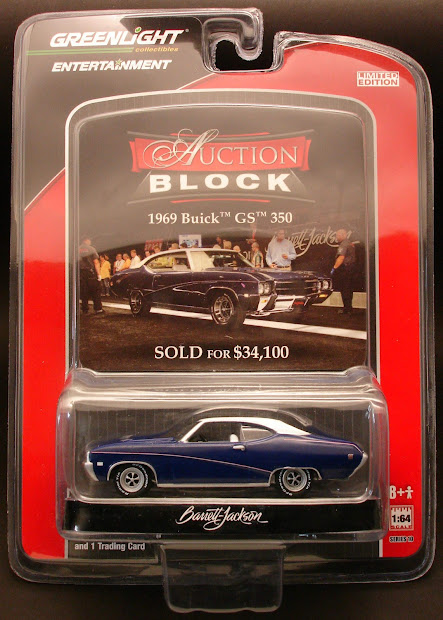 Diecast Hobbist Greenlight Auction Block Series 10