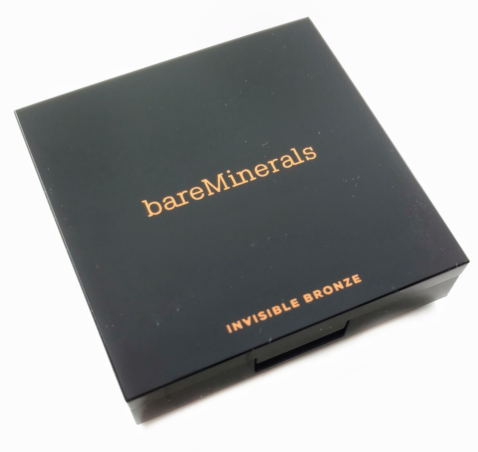 bareminerals invisible bronze packaging