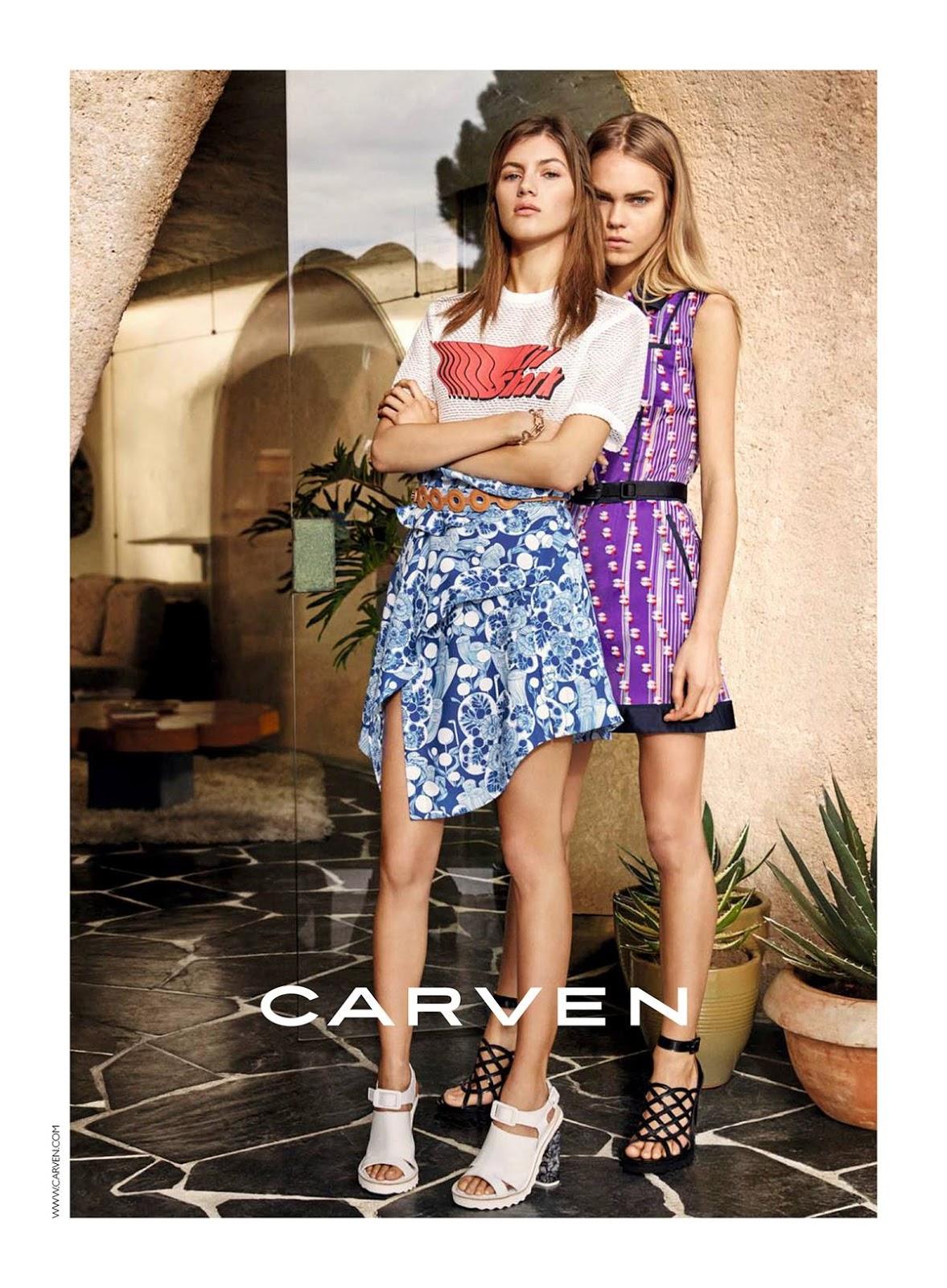 Smile Ad Campaign Carven Spring Summer 2016 Line Brems