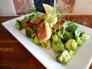 Salmon & Broccoli