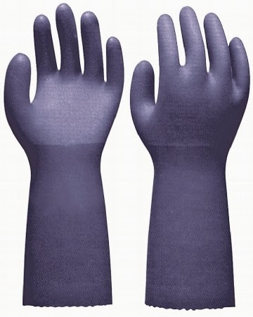 "12"" PVC COATED GLOVES"