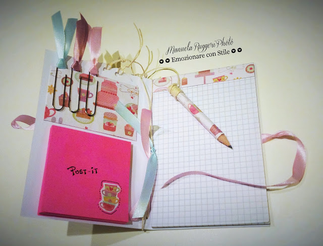 Interno notes handmade scrapbooking