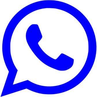 blue whatsapp