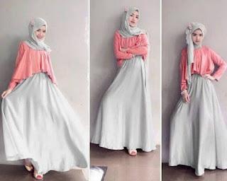 Model Baju Hijab Modern Terbaru Casual Gaul Branded Dengan Celana Jaman Sekarang