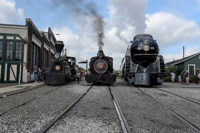 100 Years of American Steam at the NC Transportation Museum