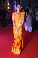 Shalini Pandey in Beautiful Orange Saree Sleeveless Blouse Choli ~  Exclusive Celebrities Galleries 047.JPG