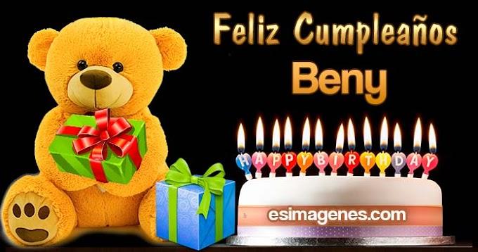 Feliz Cumpleaños Beny