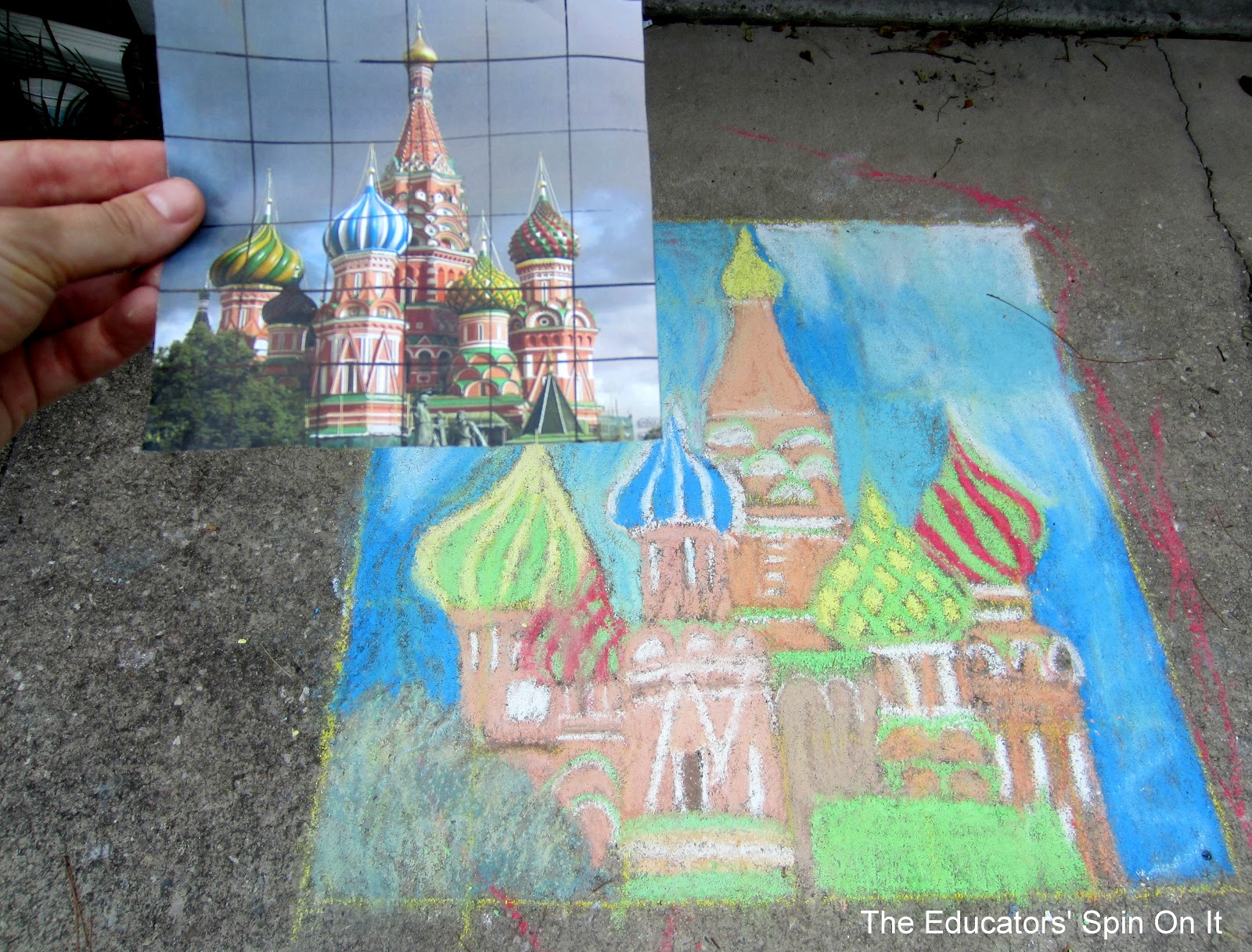 The Educators Spin On It Learning With Art And Math About The Buildings Of Russia