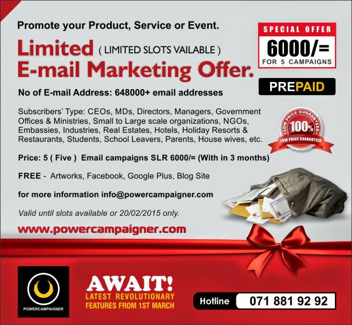 Powercampaigner Email Marketing Sms Marketing Whatsapp Martketing 5 E Mail Campaigns For 6 000 Limited Slots