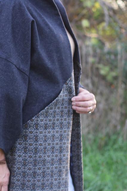 Sapporo Coat made with Mood Fabrics