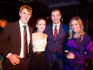 The Ryans At Fundraiser With Friends