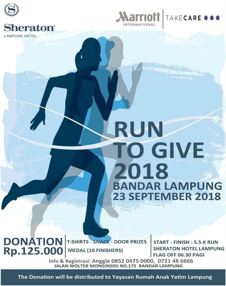 Run to Give - Lampung • 2018