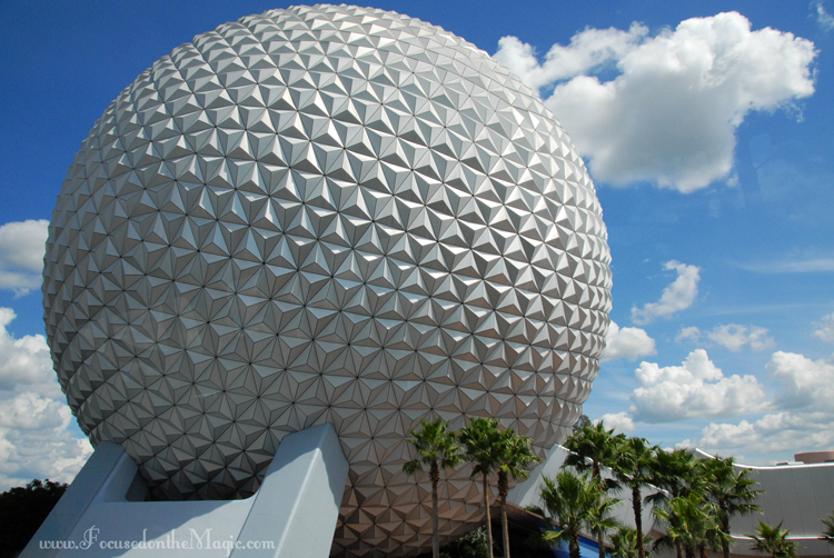 Spaceshipearth, EPCOT Center