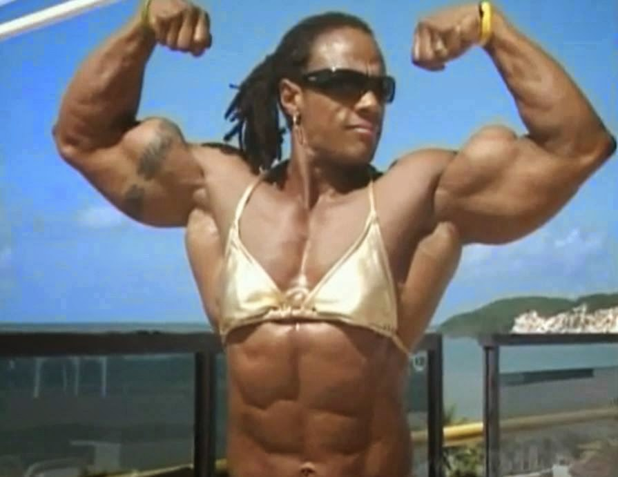 Top Female Body Builder Renne Toney