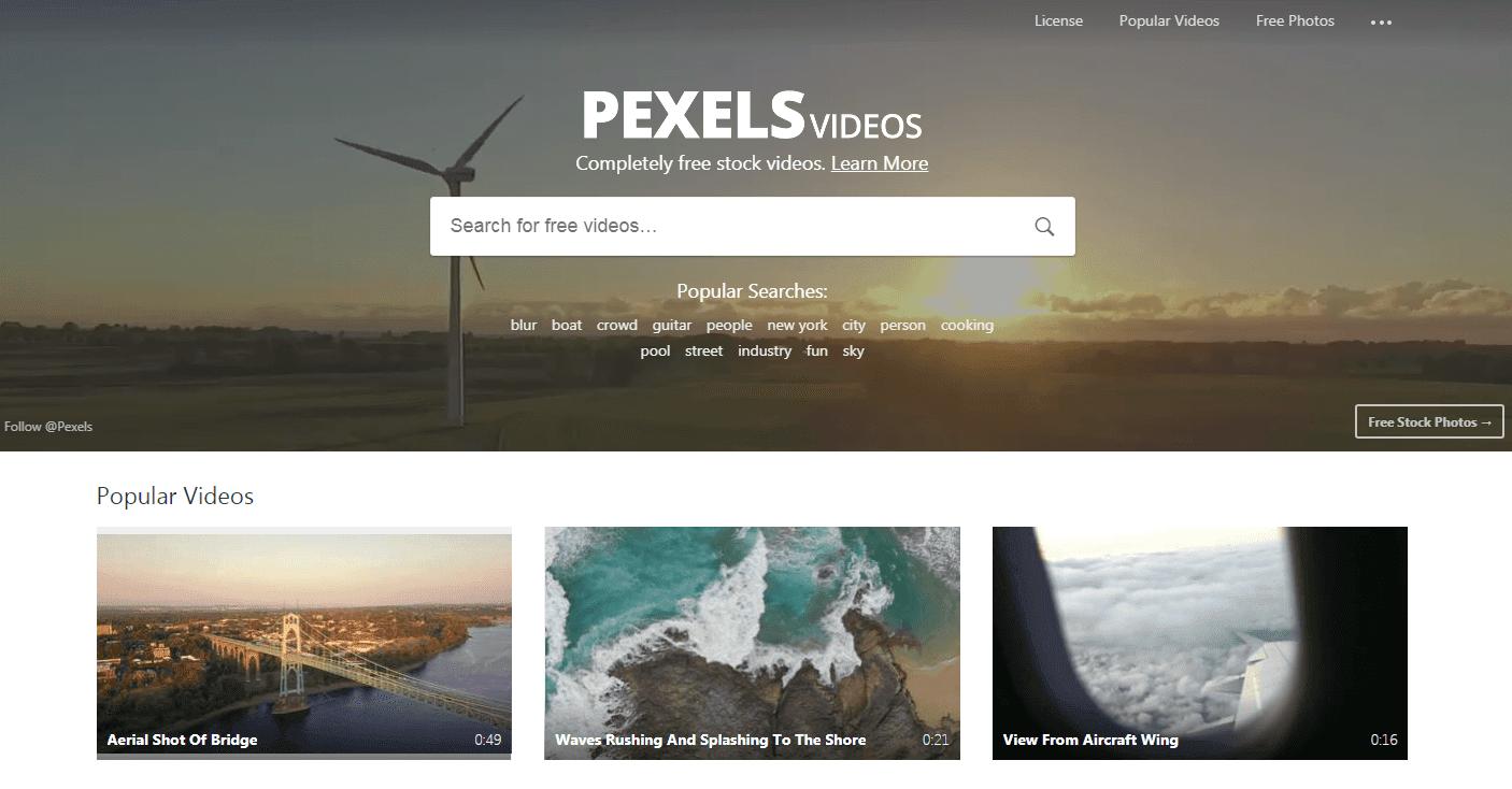 pexels video،كيفية الحصول على صور مجانية
