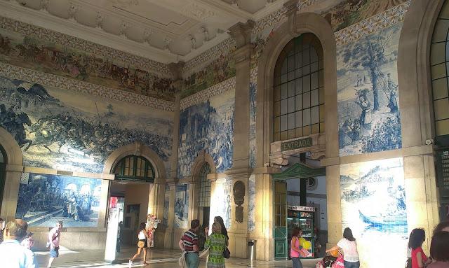 Słynny dworzec Harrego Pottera zlokalizowany w Porto.
