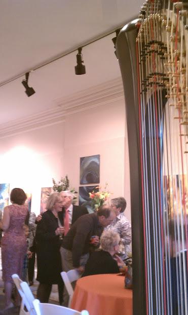 Central Illinois Harpist Strawn Art Party