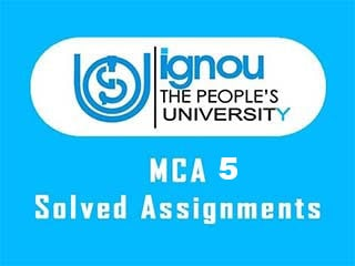 IGNOU MCA 5 Semester Solved Assignments Download