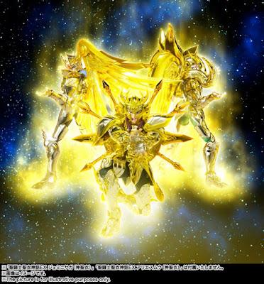 Libra Dohko Myth Cloth EX de Saint Seiya: Soul of Gold - Tamashii Nations