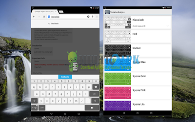 Download Aplikasi Sony Xperia Keyboard Versi 7.3.A.0.54 Apk Terbaru For Samsung, HTC, Asus, All Phone
