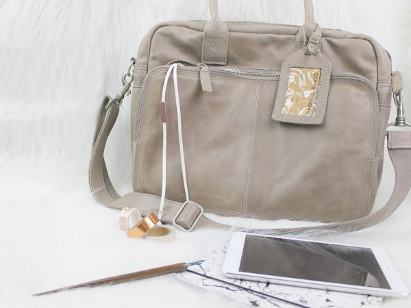 De perfecte laptoptas - Cowboysbag