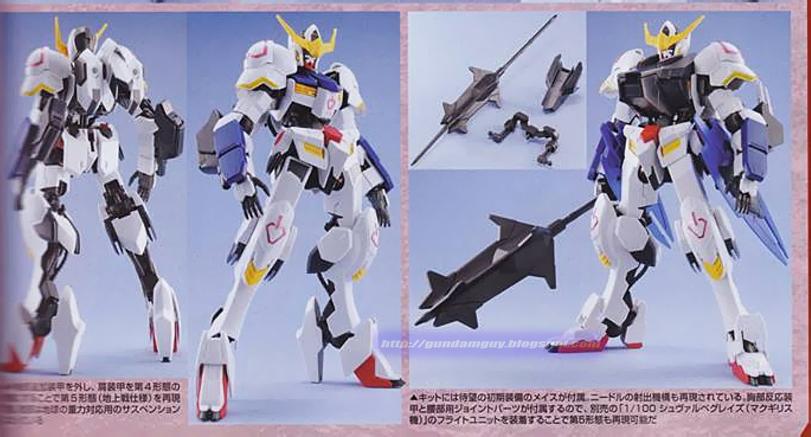 GUNDAM GUY: 1/100 Gundam Barbatos 6th Form - Release Info