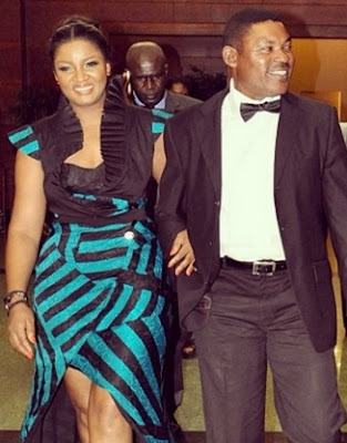 omotola jalade 20th wedding anniversary